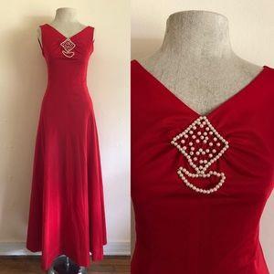 VNTG Red Dress